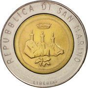 500 Lire (Man with Computer) -  obverse