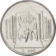 100 Lire (Family) -  reverse