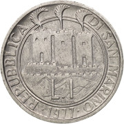 1 Lira (FAO) – reverse