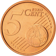 5 Euro Cent -  reverse