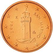 1 Euro Cent -  obverse
