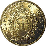 1 Scudo (Resumption of Coinage) -  obverse