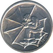 1 Lira (Umbrella Maker) – reverse
