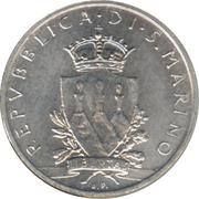 1 Lira (Rapier) – obverse