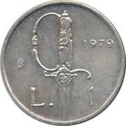 1 Lira (Rapier) – reverse