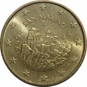 50 Euro Cent (2nd map) -  obverse