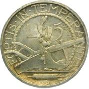 5 Lire (Prova) – reverse