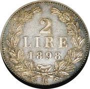 2 Lire – reverse