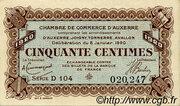 50 centimes - Chambre de Commerce d'Auxerre [89] – obverse