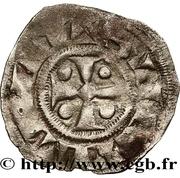 Denier - Hervé III de Donzy – reverse