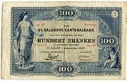 100 Francs (St. Gallische Kantonalbank) – obverse