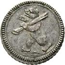 1 Pfennig - Beda Angehrn – obverse