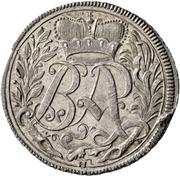 12 Kreuzer - Beda Angehrn – reverse