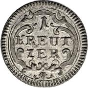 1 Kreuzer - Beda Angehrn – reverse