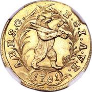 Ducat - Beda Angehrn – reverse
