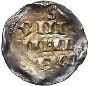 1 Denier - Henri II – reverse