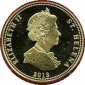 25 Pence - Elizabeth II (Battle of Jena) – obverse