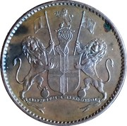 ½ Penny (British East India Company) – obverse