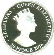 20 Pence - Elizabeth II (Golden Guinea) – obverse