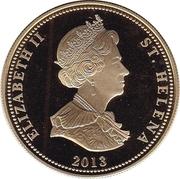 25 Pence - Elizabeth II (Bird Life - Albatross) -  obverse