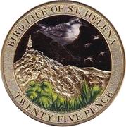 25 Pence - Elizabeth II (Bird Life - Wirebird) – reverse