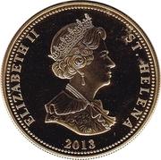25 Pence - Elizabeth II (Bird Life - Bulwer's Petrel) – obverse
