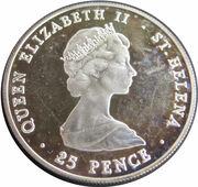 25 Pence - Elizabeth II (Year of Scout) – obverse