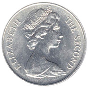 25 Pence - Elizabeth II (Discovery; Silver Proof Issue) – obverse