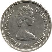 25 Pence - Elizabeth II (Silver Jubilee) – obverse