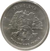 25 Pence - Elizabeth II (Silver Jubilee) – reverse