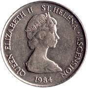 10 Pence - Elizabeth II (2nd portrait; large type) – obverse