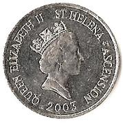 10 Pence - Elizabeth II (3rd portrait; small type) – obverse