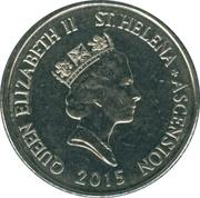 10 Pence - Elizabeth II (3rd portrait; small type; magnetic) – obverse