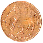2 Pence - Elizabeth II (3rd portrait) – reverse