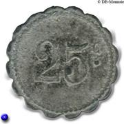 25 Centimes (Saint-Menehould, UCM) – reverse