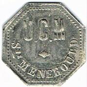 50 centimes - Saint Menehould (51) – obverse