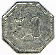 50 centimes - Saint Menehould (51) – reverse