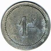 1 Franc - Saint Menehould (51) – reverse