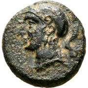 Bronze Æ13 - Evagoras II – obverse