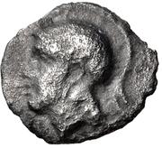 Obol- Evagoras II – obverse