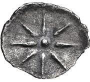 Obol- Evagoras II – reverse