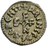 1 Denaro - Siconulf (Nothing in any quadrant) – obverse