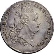 1 Thaler - Friedrich III. – obverse