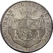 1 Thaler - Friedrich III. – reverse