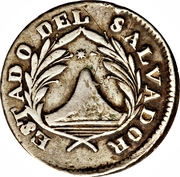 1 Real (Provisional coinage) – obverse
