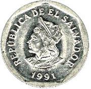 1 Colón -  obverse