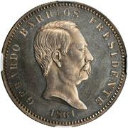 1 Peso (Pattern) – obverse