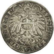 10 Kreuzer - Johann Jakob Khuen von Belasi (Rudolf) -  reverse