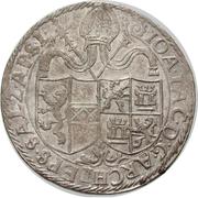 1 Thaler - Johann Jakob Khuen von Belasi -  obverse