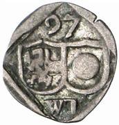 1 Pfennig - Wolf Dietrich von Raitenau -  obverse